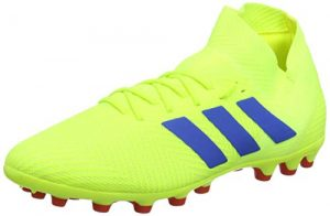 adidas Herren Nemeziz 18.3 AG Fußballschuhe, Gelb (Solar Yellow/Football Blue/Active Red), 44 2/3 EU
