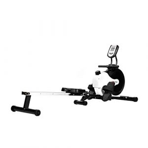 AsVIVA Unisex– Erwachsene Rudergerät RA11 Rower weiß, One-Size