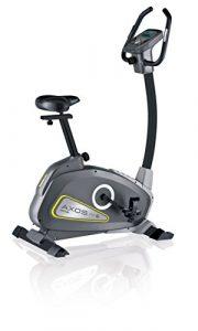 Kettler Heimtrainer Fahrrad AXOS Cycle P – mit 12 Programmen und 16 Stufen – idealer Hometrainer mit Trainingscomputer – inkl. Handpulssensoren – schwarz & anthrazit
