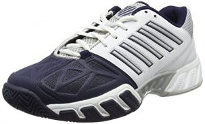K-Swiss Performance Herren Bigshot Light 3 Tennisschuhe, Weiß (White/Navy 37), 43 EU