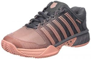 K-Swiss Performance Damen Hypercourt Express HB Tennisschuhe, Pink (Plum Kitten/Coral Almond 093-M), 39 EU