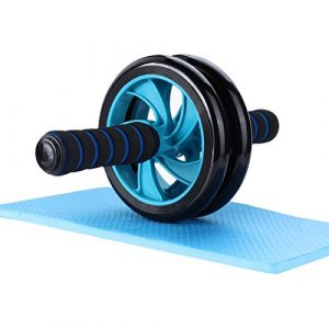 Mitavo AB Roller, Ab Wheel, Ab Bauchtrainer mit Knieauflage für Fitness und effizientes Bauchmuskel / Schultermuskel / Armmuskel /Oberschenkel Training