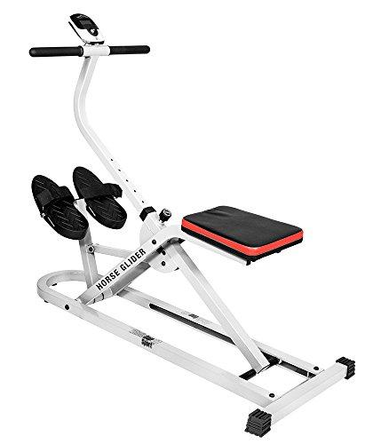Christopeit Horse Glider Fitnessbike, weiß, M
