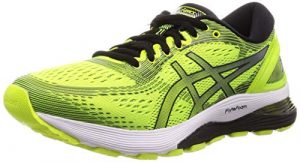 ASICS Herren Gel-Nimbus 21 Laufschuhe, Gelb (Safety Yellow/Black 750), 44.5 EU