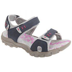 PDQ Damen Sport Sandale / Trekkingsandale mit Klettverschluss