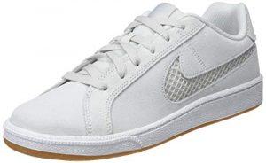 Nike Damen Court Royale Premium Tennisschuhe, Weiß Platinum Tint/Half Blue 003, 38 EU
