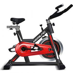 CCDZ Spinnendes Innenfahrrad Stummes Sports Fahrradeignungausrüstung in Sport Freizeit Fitness Ausdauertraining Indoorcycling Bikes