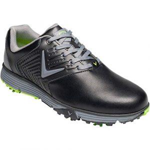 Callaway Herren Del Mar Retro Waterproof Spikeless Golfschuhe