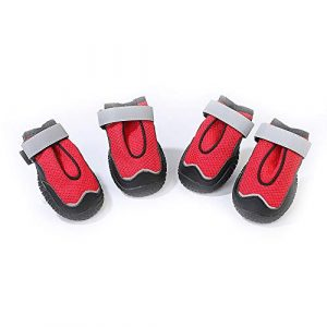 Clluzu Pet Shoes rutschfeste, Bequeme und lässige Sport-Sandalen für große Hunde