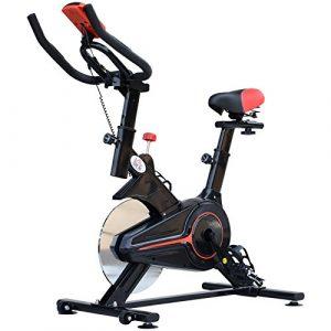 HOMCOM Indoor Cycling Bike Trainer Home Gym Fahrradtrainer Fitnessfahrrad 102x47x104cm