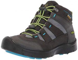 KEEN Hikeport Mid WP Shoes Kinder Magnet/Greenery Schuhgröße US 8   EU 24 2019 Schuhe