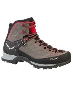 Salewa MTN Trainer Mid GTX Men – Charcoal/Papavero – Trekkingstiefel