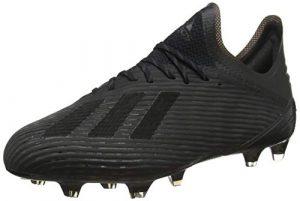 adidas Herren X 19.1 Fg Fußballschuhe, Schwarz Core Utility Black/Silver Met, 43 1/3 EU