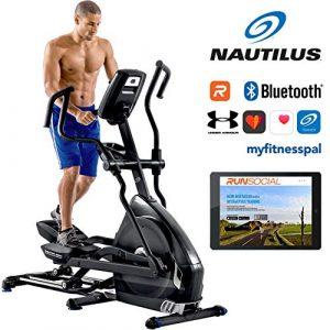 Nautilus E628 Ellipsentrainer – 29 Programme – 32 Widerstandsstufen – Steigungsverstellung von 0% bis 11% – elektromagnetische Induktionsbremse