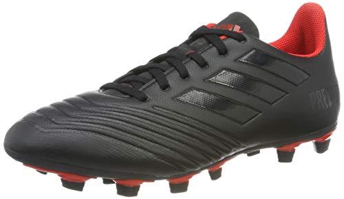 adidas Predator 19.4 FxG, Herren Fußballschuhe, Schwarz (Core Black/Active Red), 43 1/3 EU