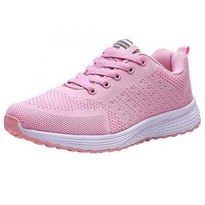 Damen Sportschuhe Sneakers,Ulanda-EU Frauen Mode Laufschuhe Mesh Atmungsaktiv Joggingschuhe Turnschuhe Fitnessschuhe Freizeitschuhe Outdoor Schuhe Sandalen Tuch Schuhe