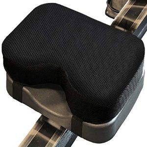 Acelane Rudergerät Sitz Memory Foam Kissen, Rudergerät,Komfortables Sitzkissen für Concept2 Indoor Rowing Rudergerät,Sitzpolster Universell Einsetzbar,rutschfest schweissfest langlebig
