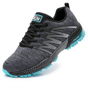 Axcone Damen Herren Sneaker Laufschuhe Air Sportschuhe Kletterschuhe Turnschuhe Running Fitness Sneaker Outdoors Straßenlaufschuhe Sports 8995 GY 43EU
